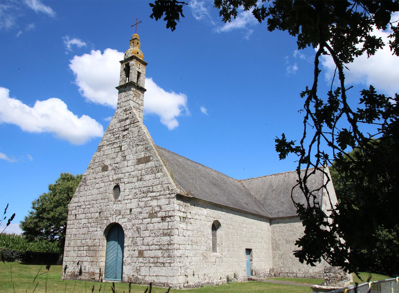 La Chapelle des Grâces Pluguffan vue extérieure