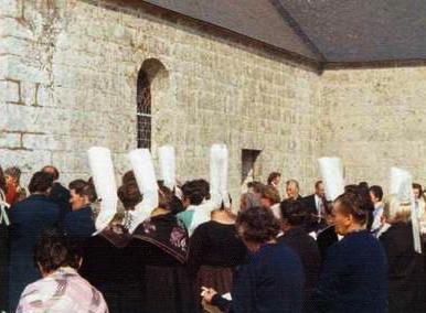 Pardon de la Chapelle des Grâces en 1976